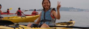 Kayaking to Ubin