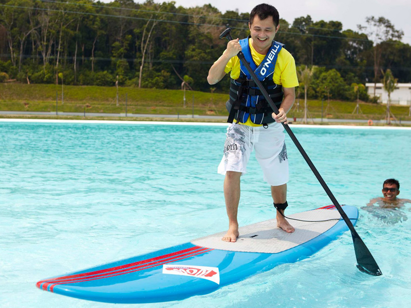 Stand Up Paddle Activity